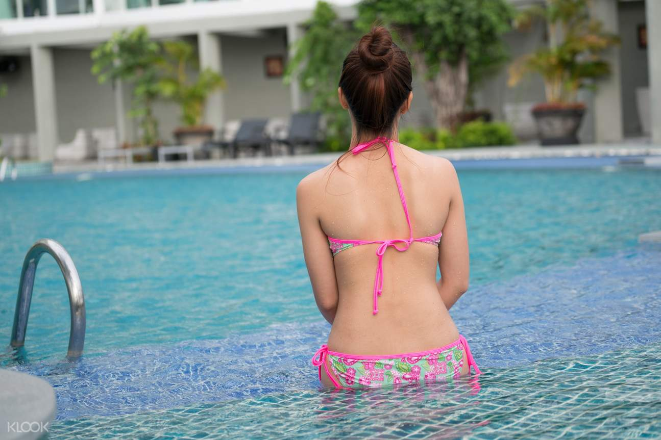 pool in Muong Thanh Luxury phu quoc hotel